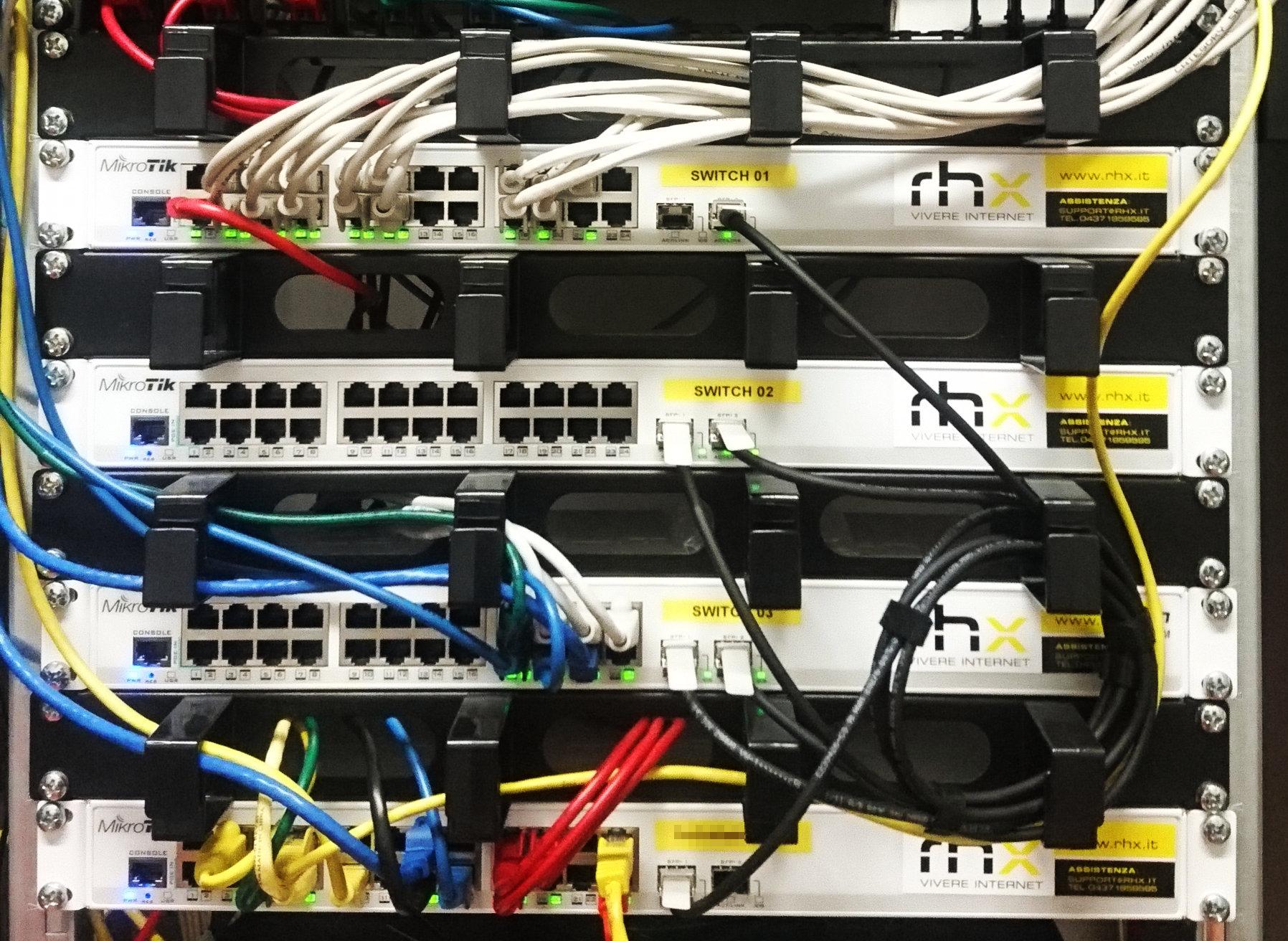Ripristino in emergenza di una rete con VLAN tagging