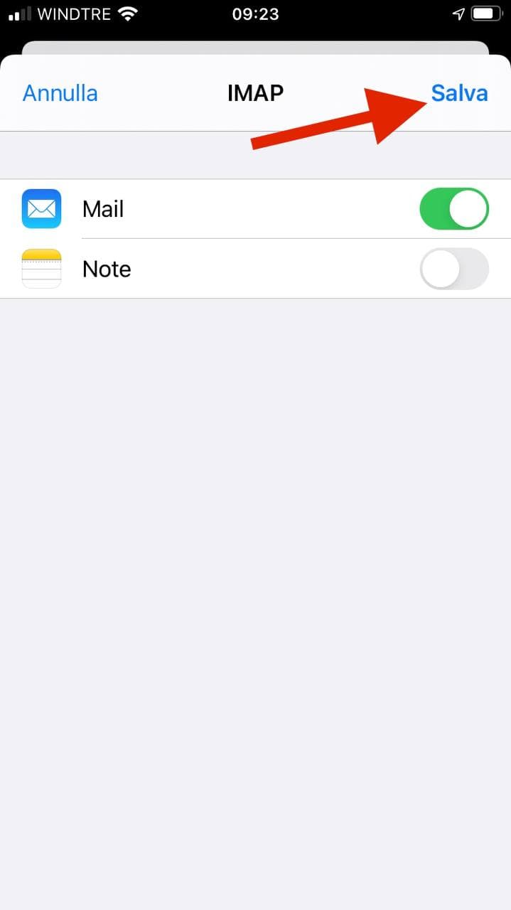 Configurare e-mail su Apple iPhone o iPad