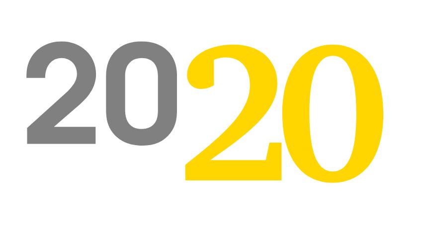 Calendario 2020 con schema di backup