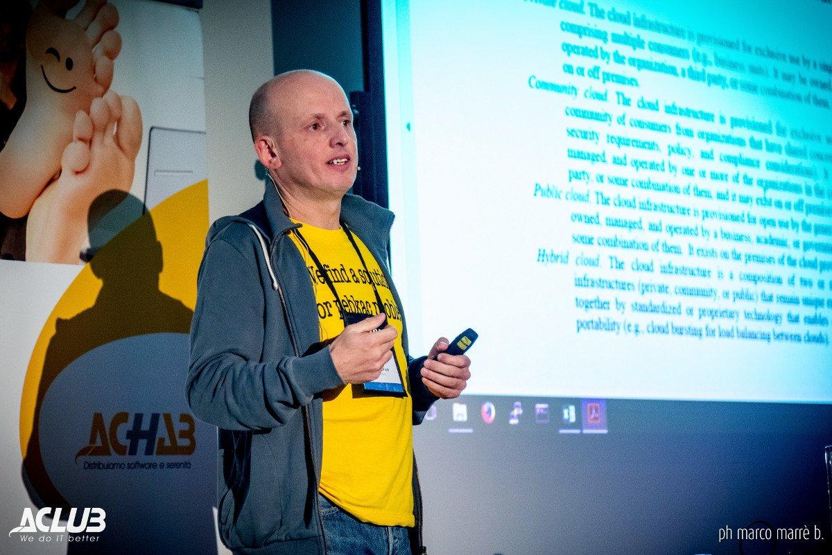 Mirko Grava, Sysadmin @ RHX ad Aclub 2017