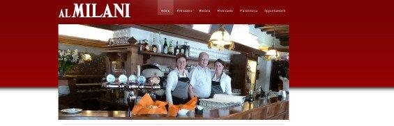 Sito web Birreria Al Milani