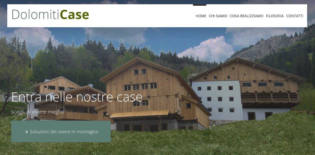 Sito web Dolomiti Case
