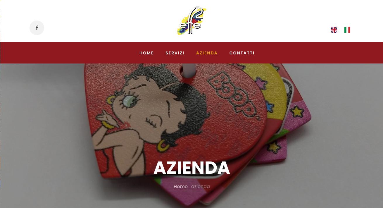 Nuovo sito web Effe2 srl