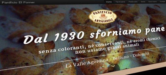 Sito web - Panificio Artigianale El Forner