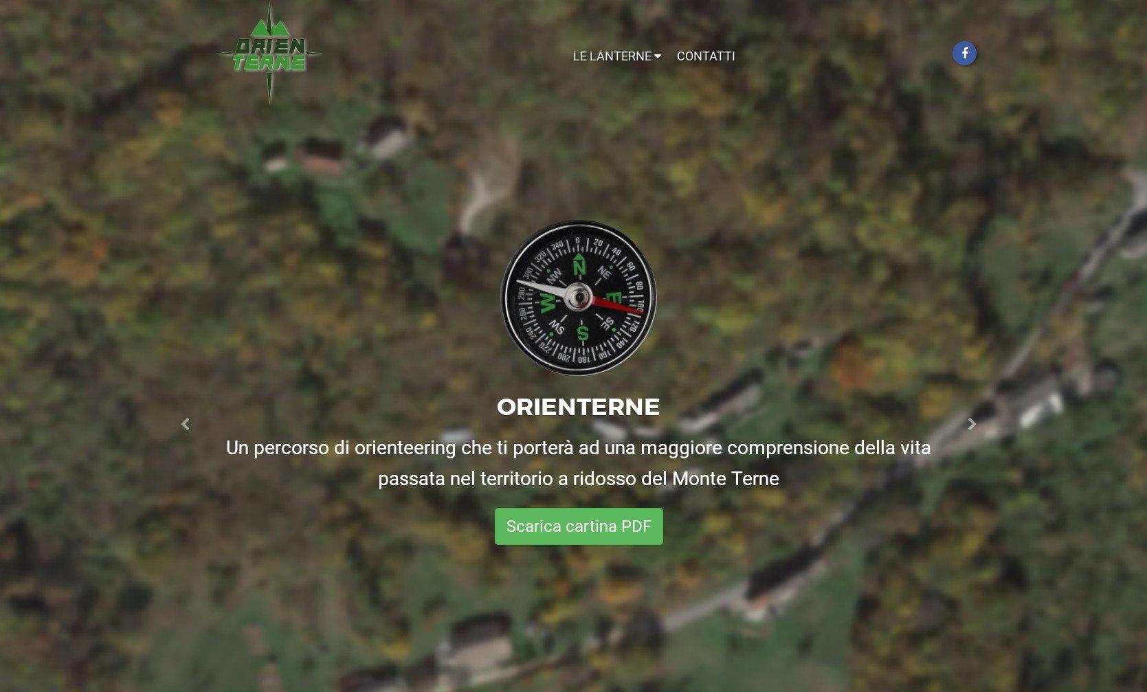 Orienterne: orienteering sul Monte Terne