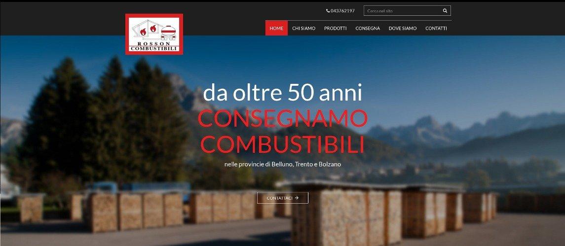 Nuovo sito web Combustibili Rosson