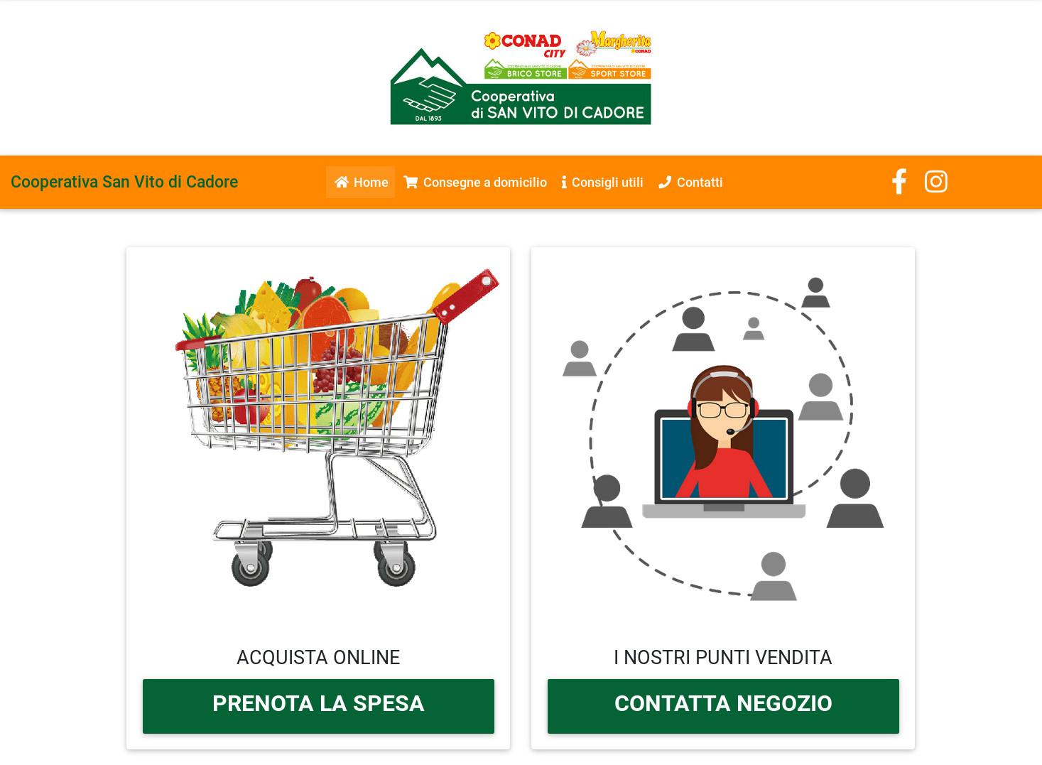 Spesa on-line per Cooperativa di San Vito
