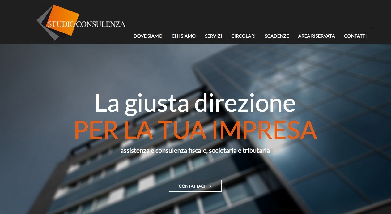 Nuovo sito web Studioconsulenza