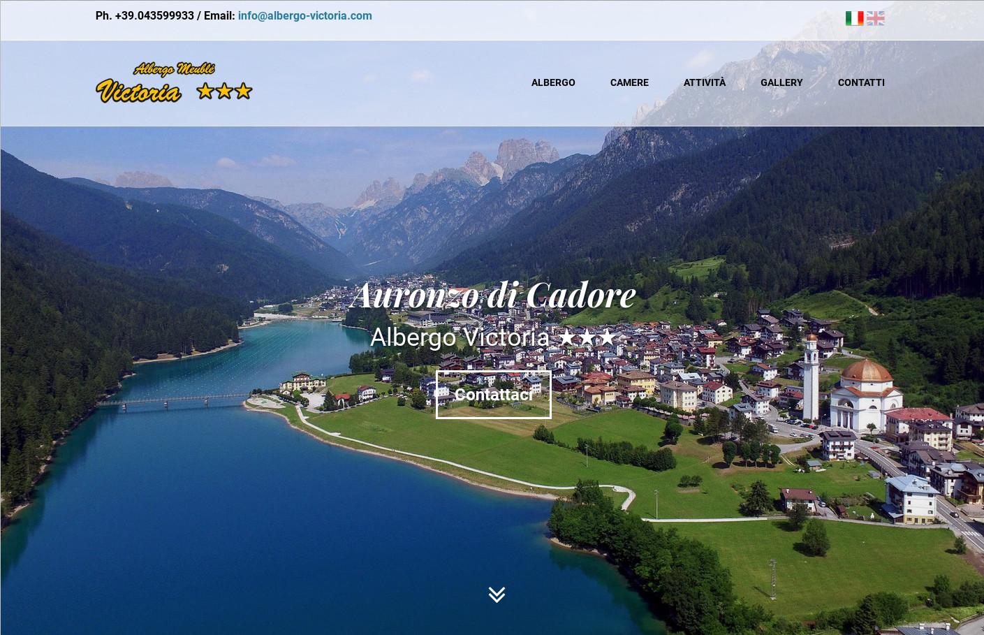 Nuovo sito per Hotel Meublé Victoria